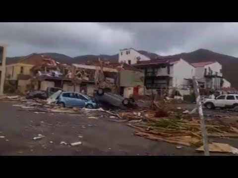 Irma Aftermath Shows Total Devastation on Caribbean Islands | NBC News