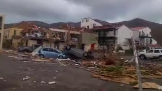 Irma Aftermath Shows Total Devastation on Caribbean Islands