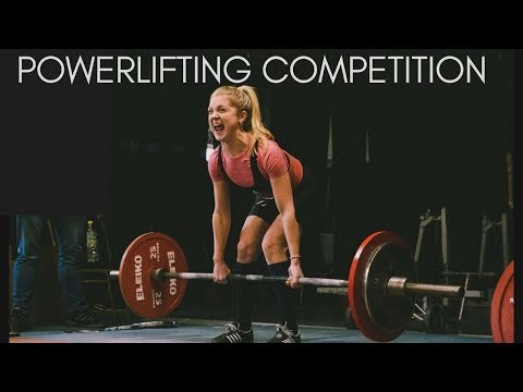 MY FIRST POWERLIFTING COMPETITION | 52kg Female Powerlifter