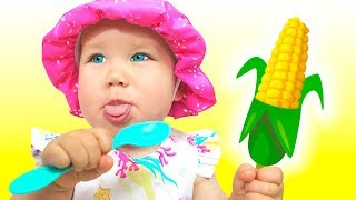 Yes Yes Vegetables Song #2   동요와 아이 노래   어린이 교육