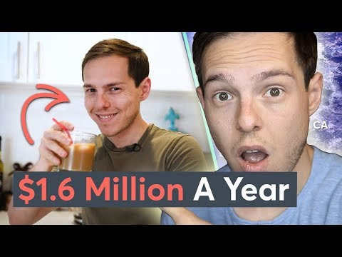 Reacting To Myself: Living On $1.6 Million A Year In Los Angeles   Millennial Money