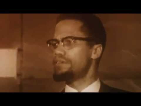 Malcolm X speaks out against western imperialism