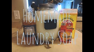 Homemade Laundry Soap For The Baby   21 & Pregnant