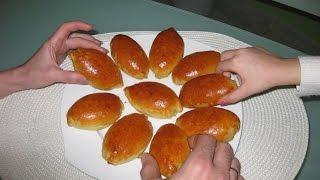 Простой рецепт. Пирожки с яблоками в духовке