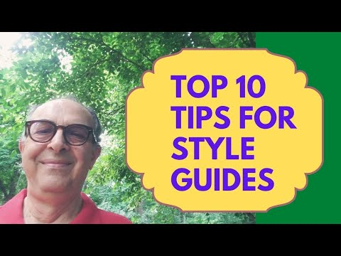 Top 10 Components of Style Guide in Technical Writing