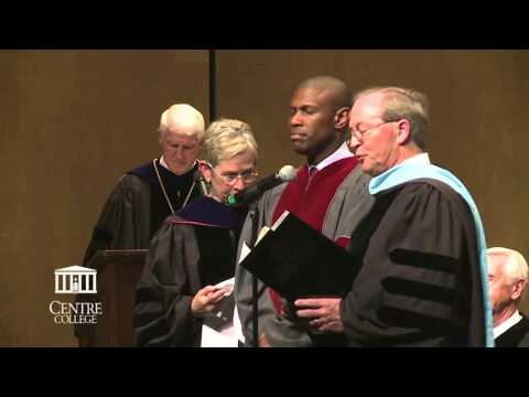 Commencement 2014  — Honorary Degree to Chris Howard