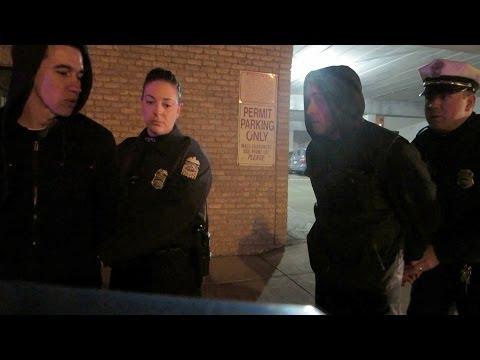 Arrested Camera footage!