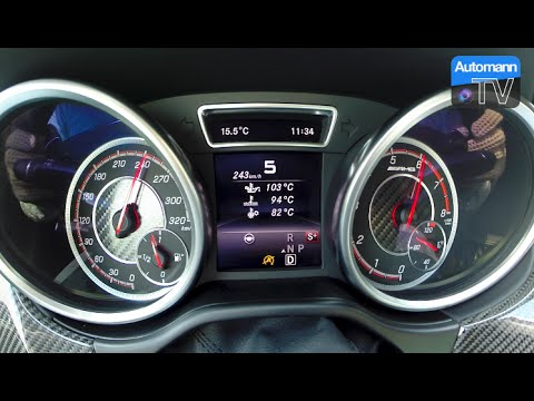 2016 mercedes amg gle 63 s 0 253 km h acceleration 60 fps rh youtube com
