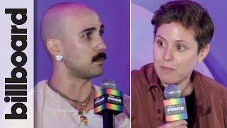 Jess Caragliano & Rick Marcello | Pride In The Corner Office | Billboard & THR Pride