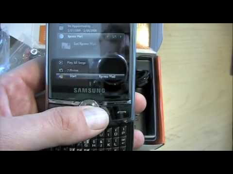 Samsung Propel Pro - Unboxing