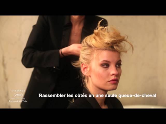 L'Attache coquée nouée | Tutoriel Cannes 2016