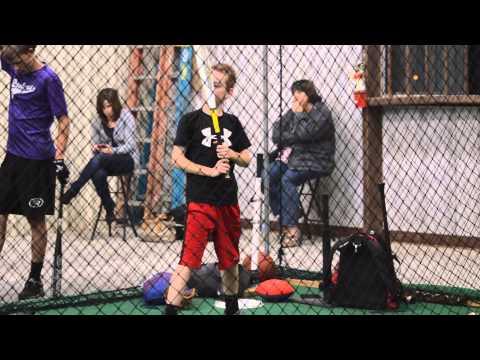 John Stroud batting lesson 11/19/2013