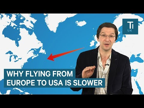 How climate change is causing flight delays over the Atlantic