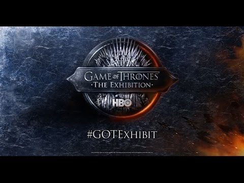 Amsterdam - Game of Thrones The Exhibition - May 2015