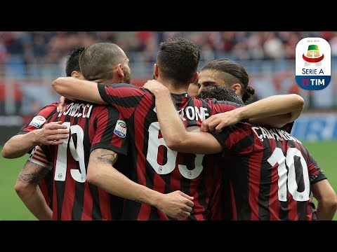Milan - Fiorentina 5-1 - Magazine - Giornata 38 - Serie A TIM 2017/18