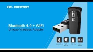 Полезная и компактная вещица COMFAST Dongle WI-FI Bluetooth. Если отваливается устройство и интернет