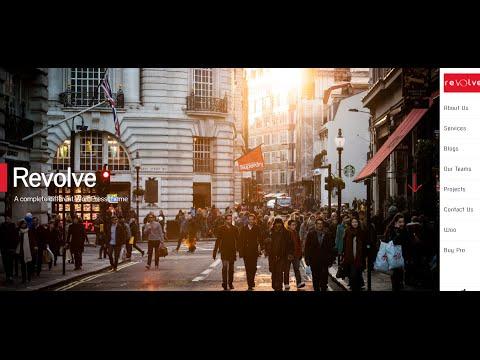 Revolve - Free WordPress theme with Modern Design