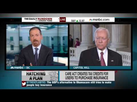 Orrin Hatch on Obamacare alternative