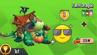 ✔️GIÀNH HẠNG 1 TRONG CUỘC ĐUA FOOD RACE $$ - Dragon City Game Mobile Android, Ios