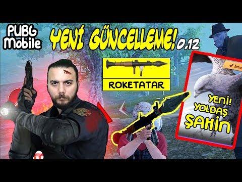 YENİ GÜNCELLEME! YOLDAŞ HAYVAN ŞAHİN ve ROKETATAR! PUBG Mobile (Yeni Silah RP7 EFSANE!)