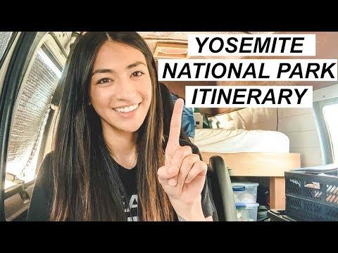 YOSEMITE National Park ITINERARY 1 - 5 Days | Hobo Ahle