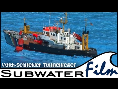 RC Buoy Tender   JOHANN GEORG REPSOLD - working Models - Subwaterfilm