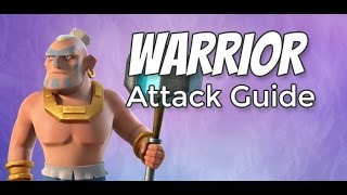 boom beach best strategy to attack with warriors using smoke on level 44 victory points