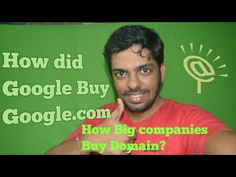 """How did Google Buy """"google.com"""" 