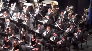 2015 ccsd high school honor band concert plying corsican litany