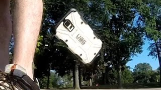 Samsung Galaxy S5 Urban Armor Gear (UAG) Drop Test