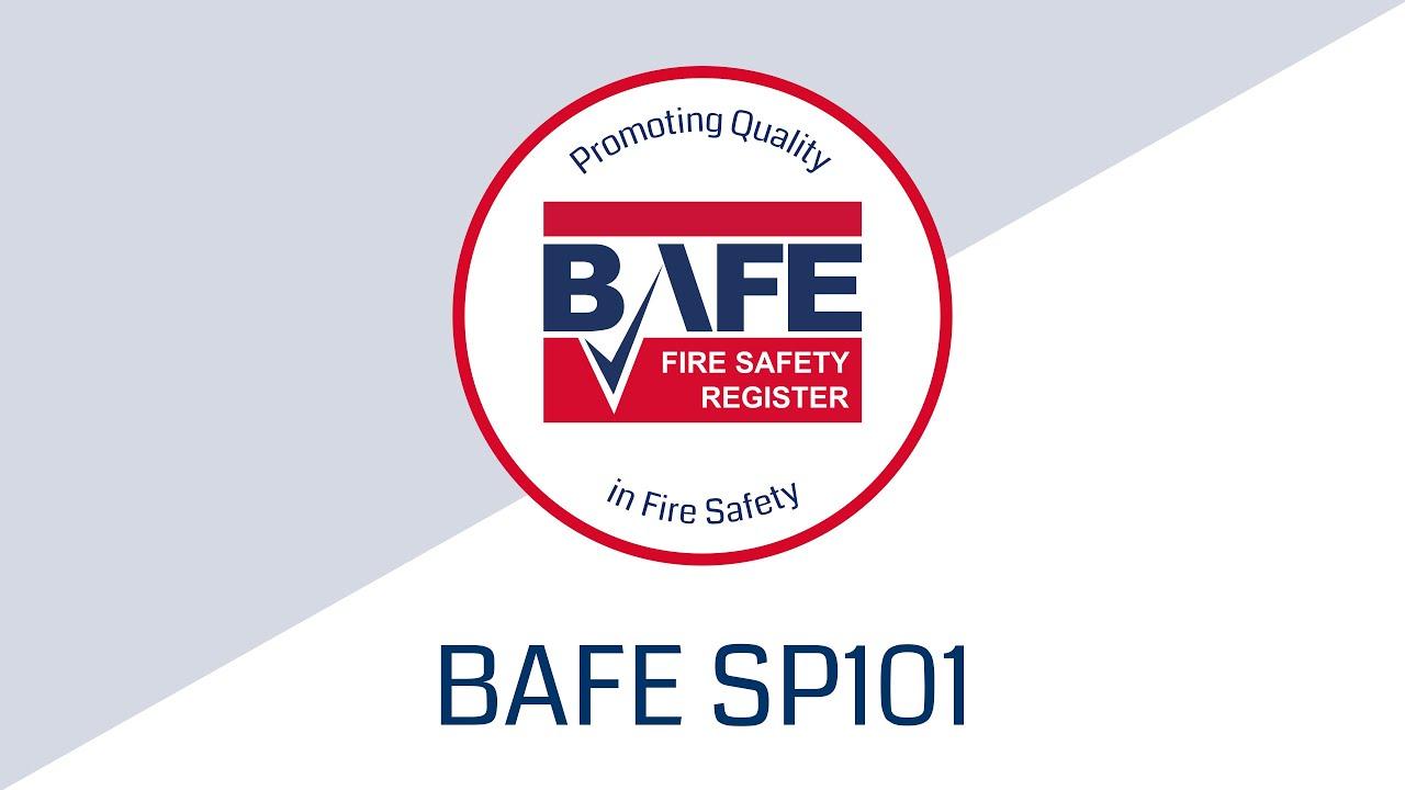 BAFE Fire Extinguisher Service Provider Scheme (SP101)