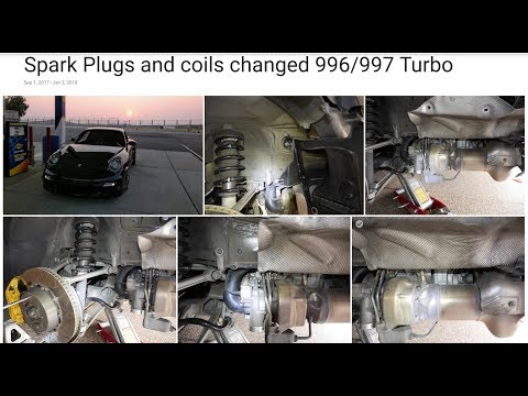 Spark Plugs And Coil Replacement On 996 997 Turbo YouTube