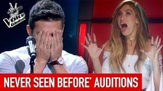 the voice   amazing blind auditions you ve never seen before