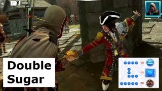 Candy Crush - Double Sugar!   ~~@#@~~ x 2   Assassin's Creed 3 Multiplayer Deathmatch.