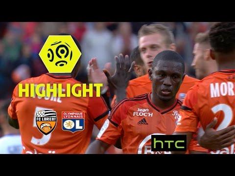 FC Lorient - Olympique Lyonnais (1-0) - Highlights - (FCL - OL) / 2016-17