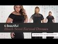 6 Beautiful Black Semi Formal Dresses Amazon 2017 Winter Collection