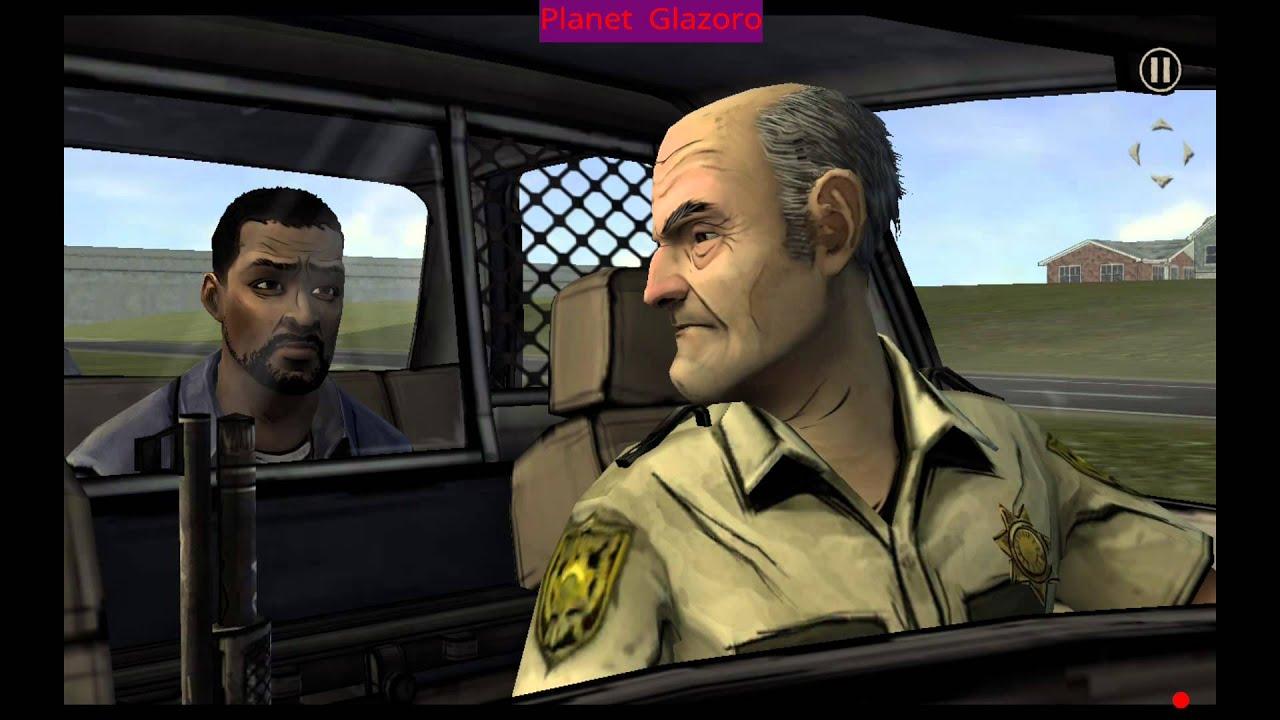 The Walking Dead Cop Car Crashes Deaths Zombies Part