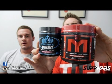 The MTS Pre-Workout Comparison Ruckus versus. Clash