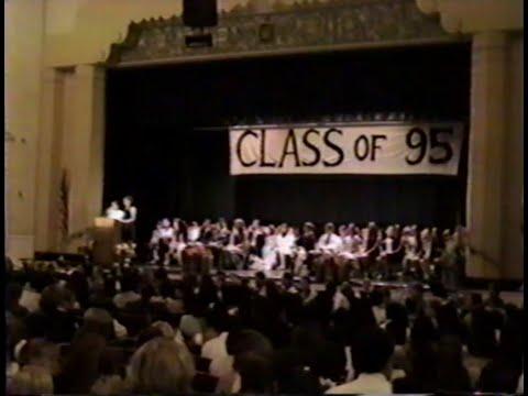 Santa Barbara Junior High School Graduation 1995