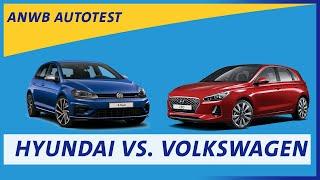ANWB test Hyundai i30 versus VW Golf