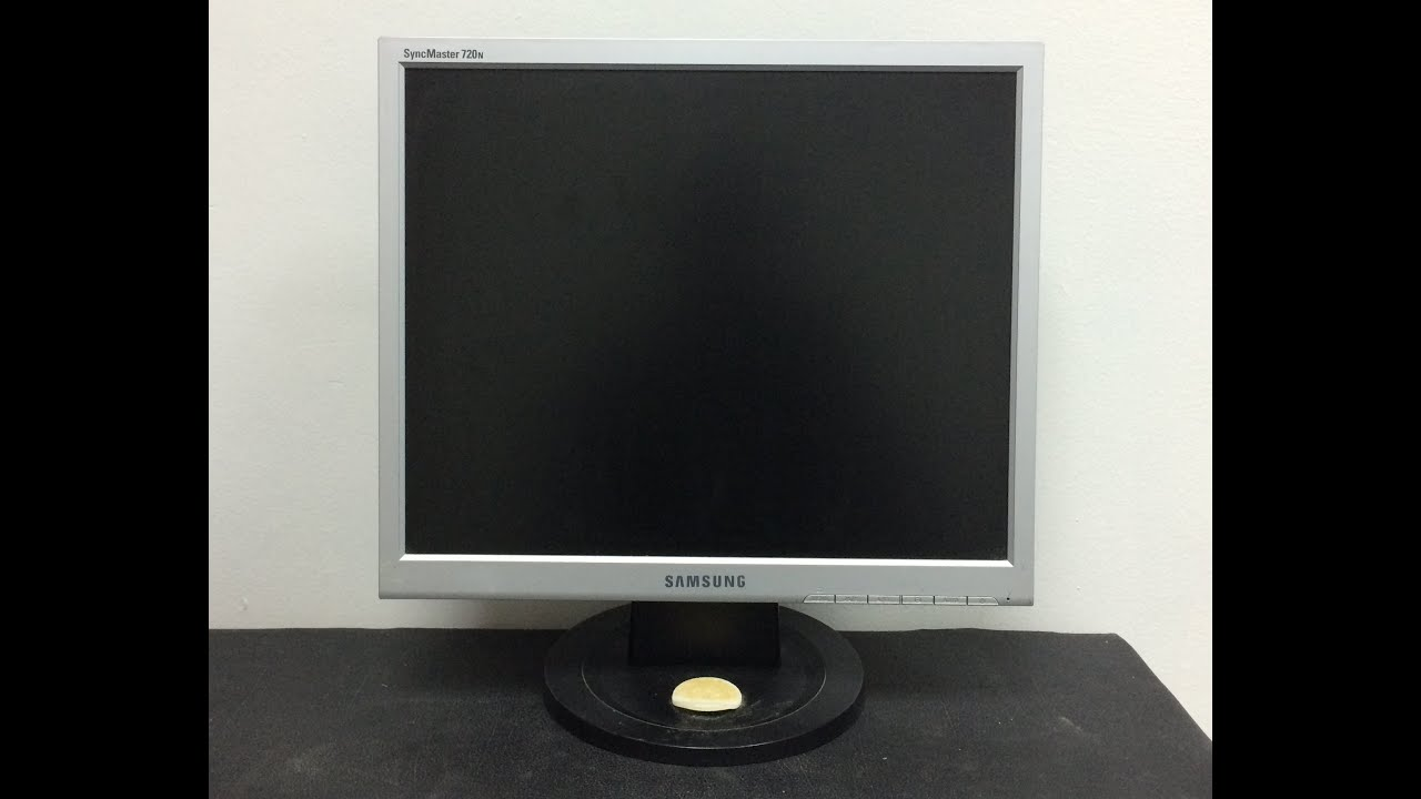 MONITOR SAMSUNG SYNCMASTER 720N DRIVERS PC