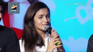 Bollywood star | Alia Bhatt | dirty talks in public