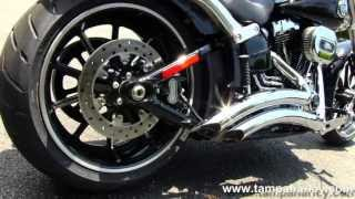 Repeat youtube video New 2013 Harley-Davidson FXSB Softail Breakout - Harley Sound
