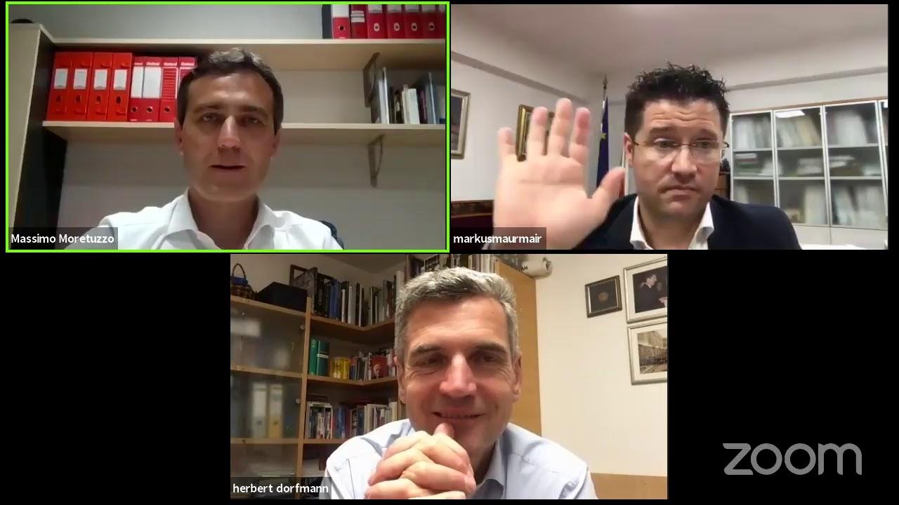 Il Patto incontra Herbert Dorfmann e Arno Kompatscher
