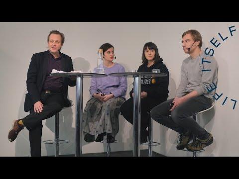 Artist talk: Olga Balema, Katja Novitskova & Valia Fetisov