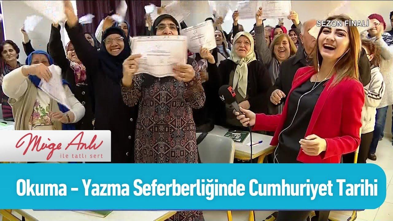 Okuma - yazma seferberliğinde Cumhuriyet Tarihi rekoru - Müge Anlı ile Tatlı Sert 21 Haziran 2019