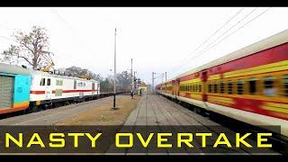 Ispat Exp overtakes HUMSAFAR Exp at Ghatshila    HUMSAFAR Humiliation