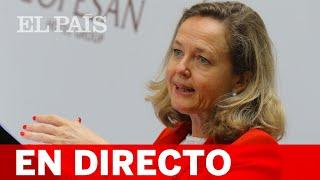 DIRECTO   CALVIÑO comparece en la Comisión de la UE
