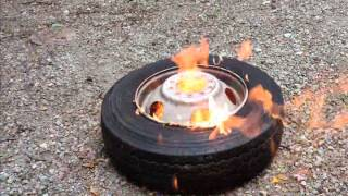 Inflating a Tire with Ether