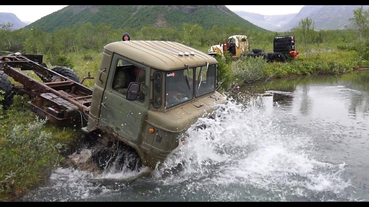 ГАЗ-66 против ЗиЛ-157. Кто проходимей и быстрей?